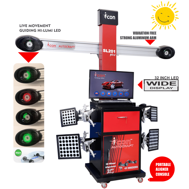 Wheel Alignment Machine in Chhattisgarh, ICON Wheel Alignment Machine